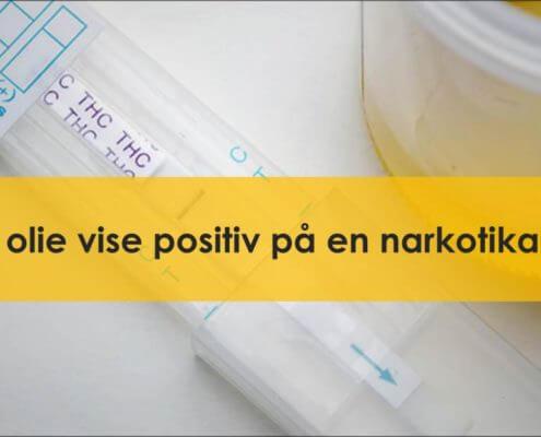 CBD og narkotika prøve