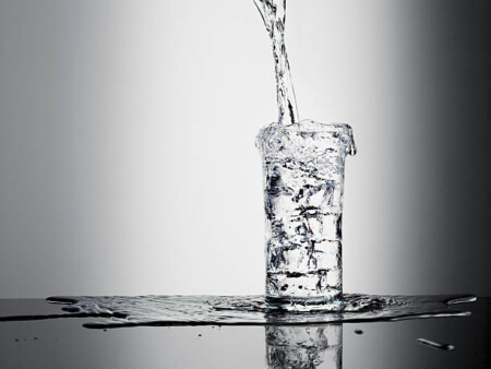 vandglas overflow
