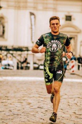 Løber i konkurrance løb