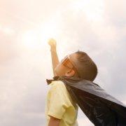 superhelt dreng