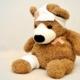 syg bamse - cbd og smerte
