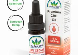 10% CBD Olie- The Real CBD - Danmark - Spanien - UK - Tyskland