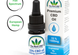 15% CBD Olie- The Real CBD - Danmark - Spanien - UK - Tyskland