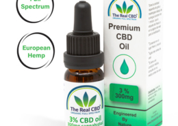 3% CBD Olie- The Real CBD - Danmark - Spanien - UK - Tyskland