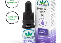 40% CBD Olie- The Real CBD - Danmark - Spanien - UK - Tyskland