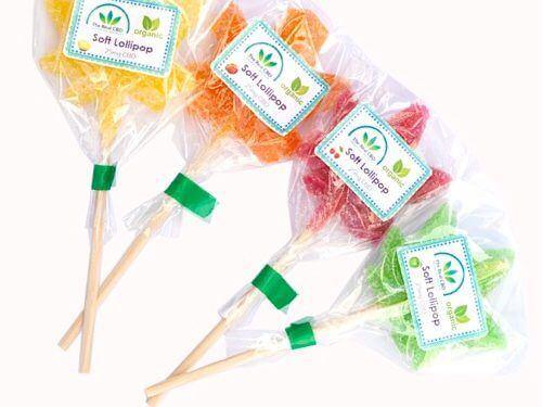 25mg CBD lollies in various colours and tasts