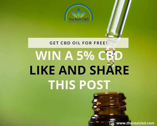 Win 5% CBD oil