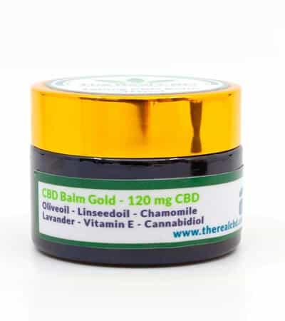 cbd healing balm The Real CBD