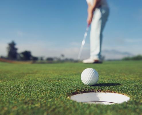 CBD for Golfer