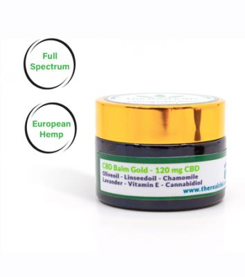 cbd healing balm by The Real CBD 120mg