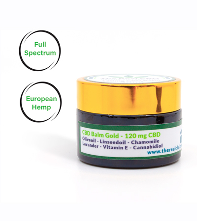 cbd healing balm by The Real CBD 120mg