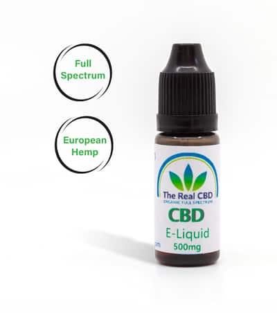 CBD-E-Liquid Vape oil by The Real CBD
