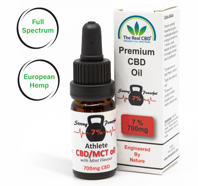 7% CBD Athletes Oil-The Real CBD-UK-Denmark-Spain-Germany