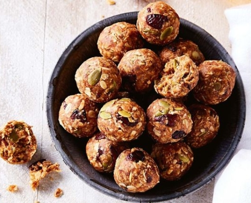 The-Real-CBD-blog-cranberry-oat-balls