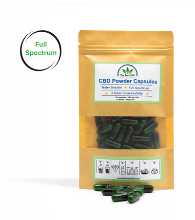the-real-cbd-water-soluble-cbd-powder-capsules-1%