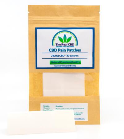 Patche de CBD para el dolor