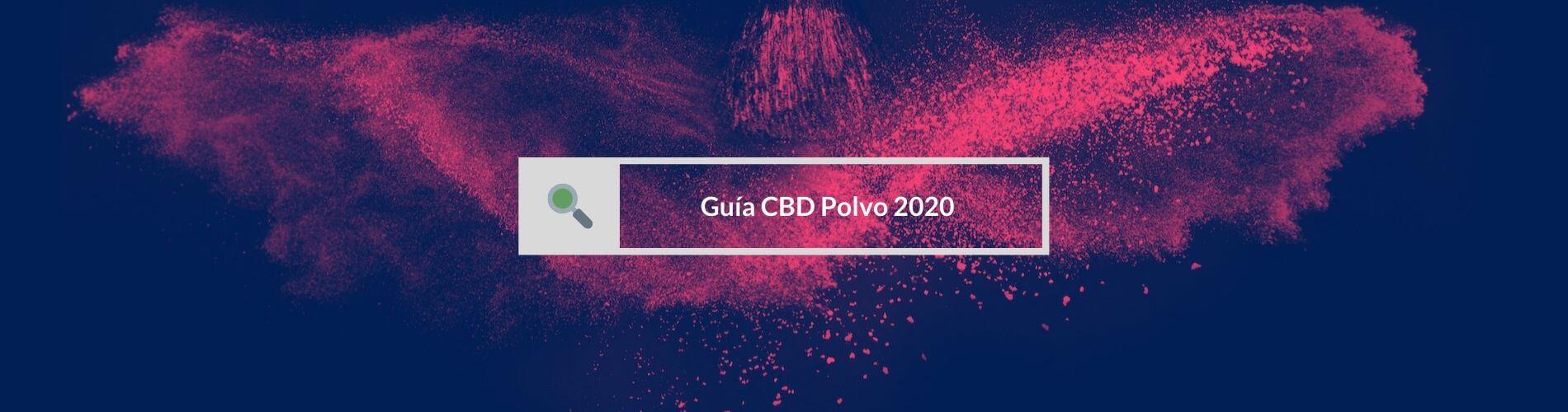 Articulos polvo de CBD España