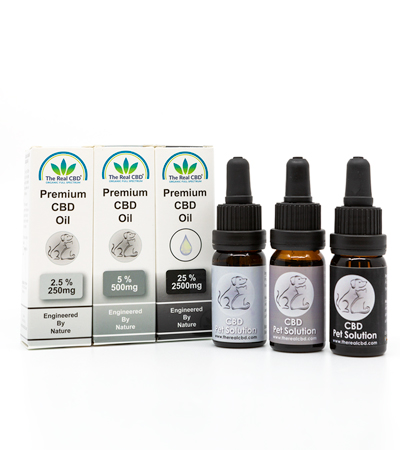 The-Real-CBD-aceite-CBD-para-pascotas-3-variadades